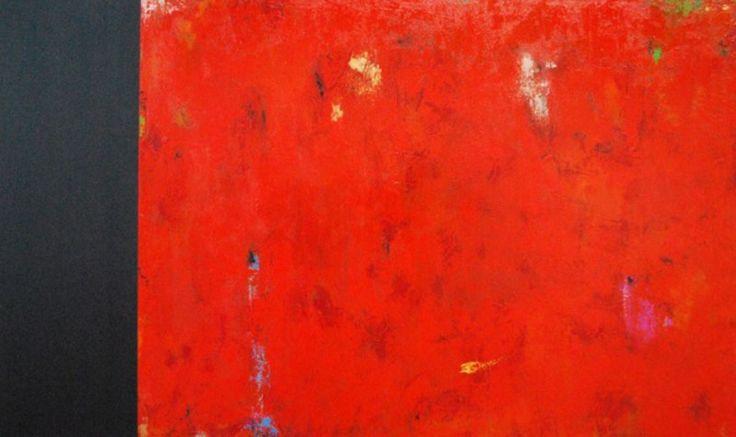 Orange Crush. Acrylic on Canvas.36×60