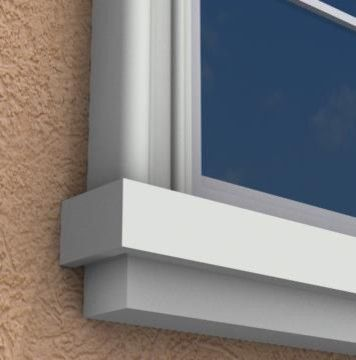 18 Best Exterior Foam Window Sills Images On Pinterest Exterior Moldings And Window Sill