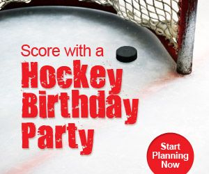hockey themed birthday party ideas