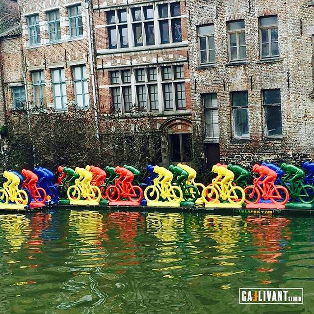 Gent is one of the best cities to feel Europes cycling culture