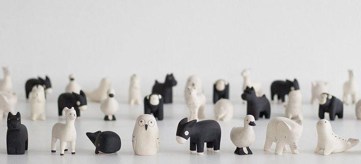 animaux japonais fabriqués à la main