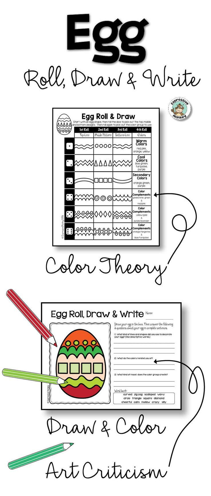 must see art criticism pins art critique art analysis and egg roll draw write is a fun way to mix up drawing