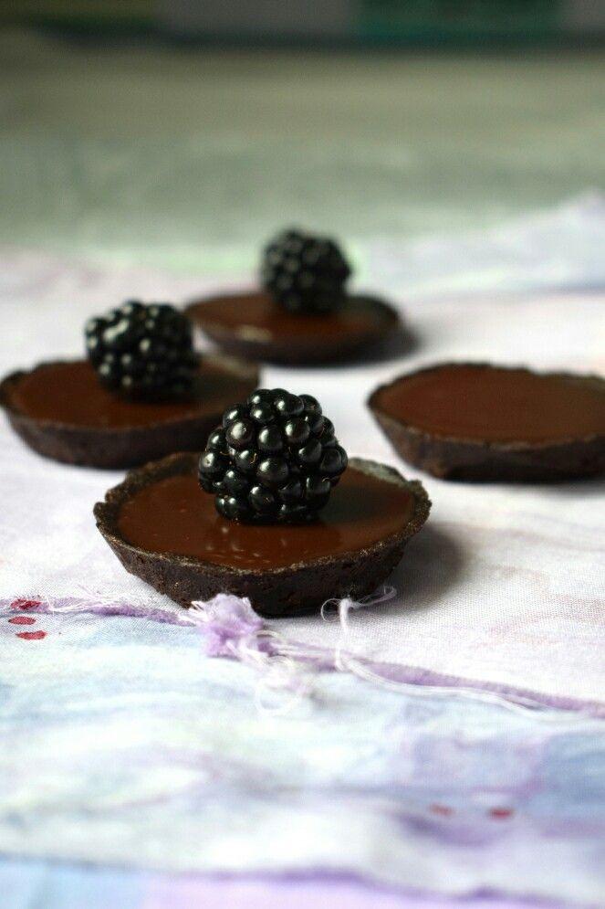 RECIPE: Chocolate ganache tartlet / suklaa ganache tartaletti