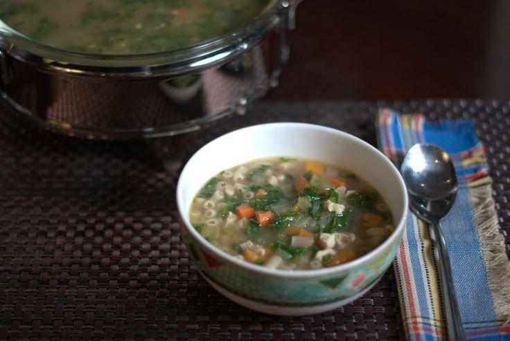 Chicken noodle soup - Recipe by Briana Santoro