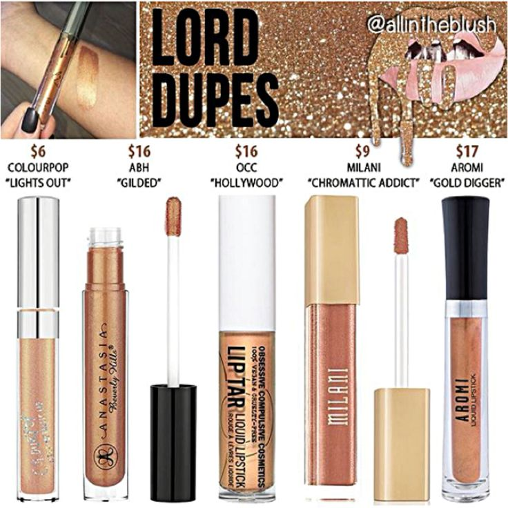 Kylie Jenner dupes for Lord More