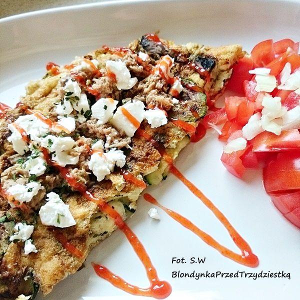 Regeneracyjne śniadanie: omlet z tuńczykiem ~ Blondynka przed trzydziestką