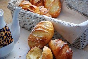 Mini baguettes viennoises