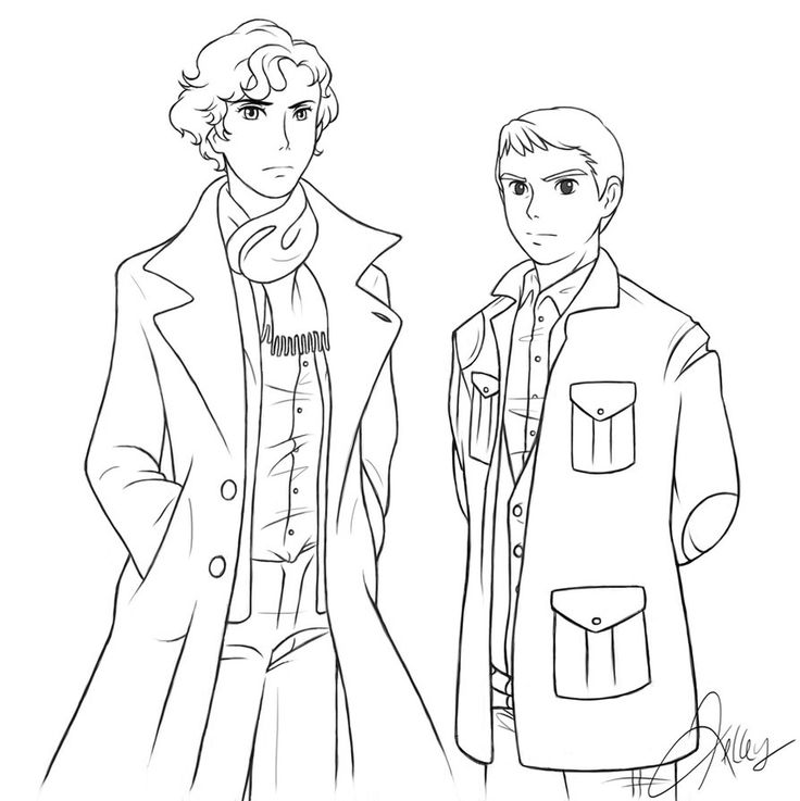 Sherlock Coloring Page I Effin Love To Color