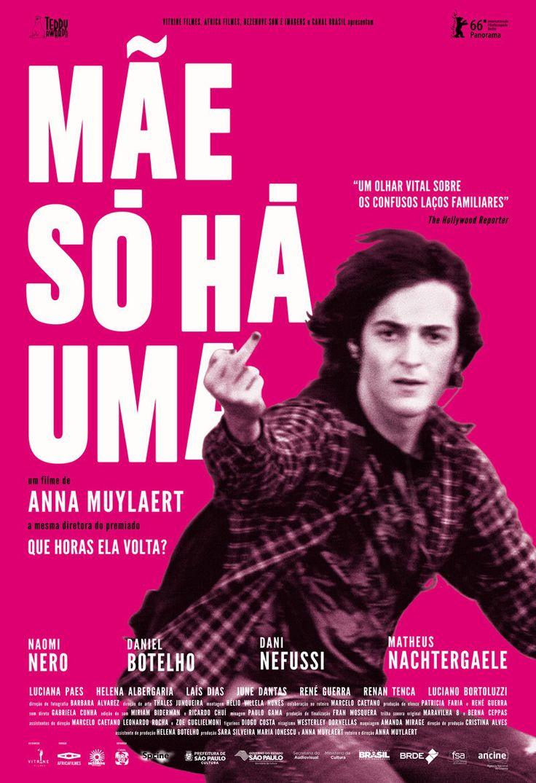 Brazilian poster for DON'T CALL ME SON (Anna Muylaert, Brazil, 2016)  Designer: TBD  Poster source: Zeitgeist Films  DON'T CALL ME SON opens at Film Forum in New York tomorrow, November 2.