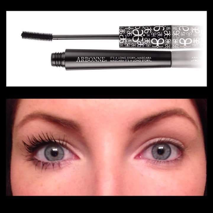 It's a long story mascara! Look at those results!!