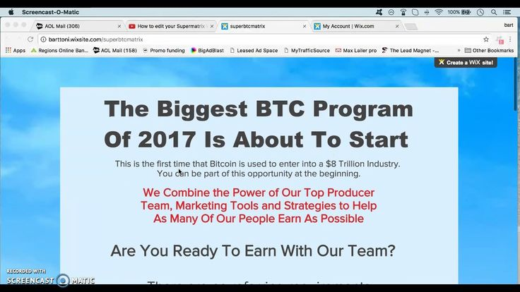 Huge Bitcoin earning program is launching soon