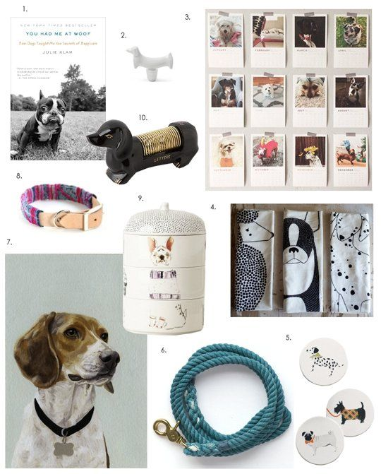 Woof! Gift Guide for Dog-Lovers