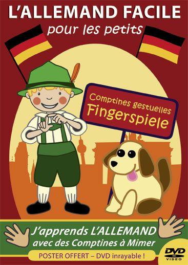 DVD, L'allemand facile pour les petits - Animations 2D - Les Editions Eveil et Découvertes