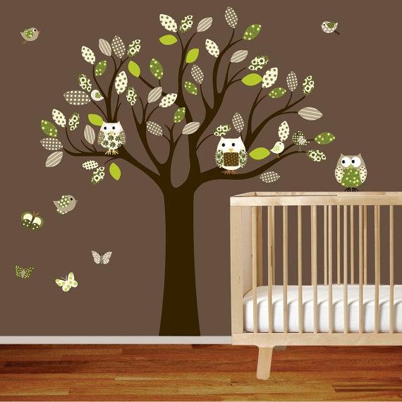 Wall Decals Nursery Decals Stickers Decal Tree by wallartdesign, $99.00