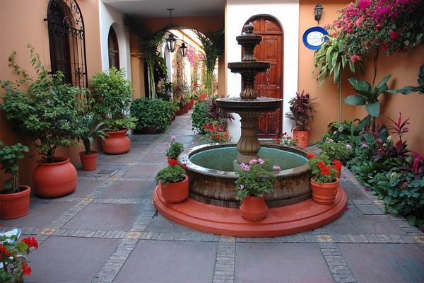 49 best Tropical Mexican Themed Backyard images on ... on Mexican Patio Ideas  id=99690
