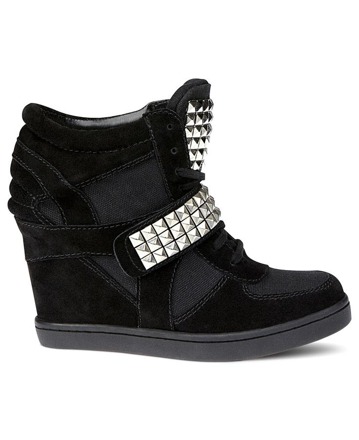 Steve Madden Women\u0026#39;s Shoes, Hamlit Wedge Sneakers - Shoes - Macy\u0026#39;s ...