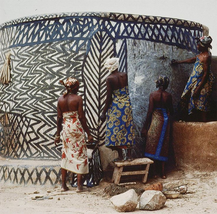 Africa | Kassena Compound, Ghana | ©unknown, not provided at the source.