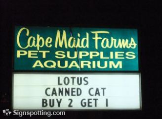 How do I get 2 canned cats?
