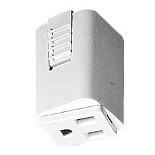White finish. Provides an electrical receptacle on single circuit Juno track. *Not UL Listed. For more than 30 years Juno Lighting Group has been providing innovative solutions to solve lighting...