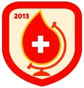 #WorldBloodDay (2013) by @PMI_JakSel: Setiap pendonor adalah pahlawan. Donorkan darah setiap 3 bulan sekali, pertolongan anda harapan mereka.