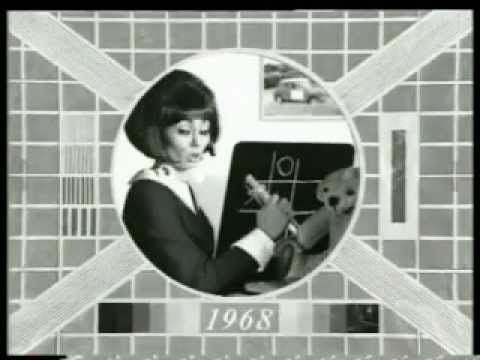 Granada - Test Card (1991, UK) A parody of the BBC test card ages fast in an advert for Granada's short-lived brand of television rental chains, which used to be known as Red Arrow decades before.