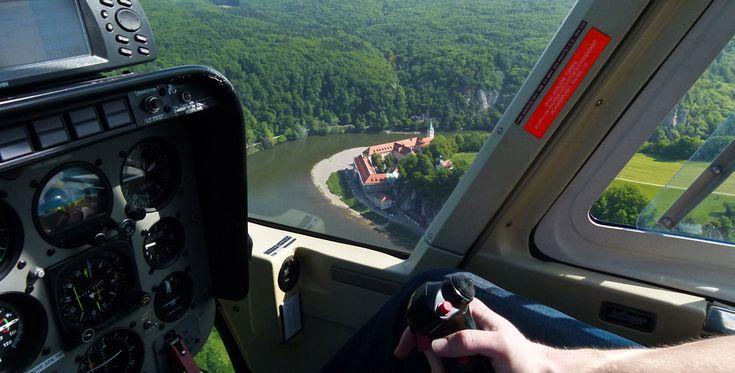 20 Min. Hubschrauber Rundflug Coburg-Brandensteinsebene #Hubschrauber #Geschenk #Helikopter