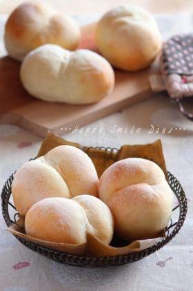 「たっぷりミルクのふたごパン。」ChococoHS | お菓子・パンのレシピや作り方【corecle*コレクル】