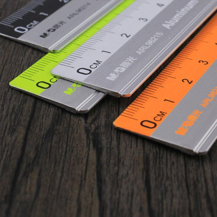 Com o mapeamento de medição régua escala de escritório papelaria 15 cm/20 cm/30 cm régua de aço inoxidável régua de corte de aço