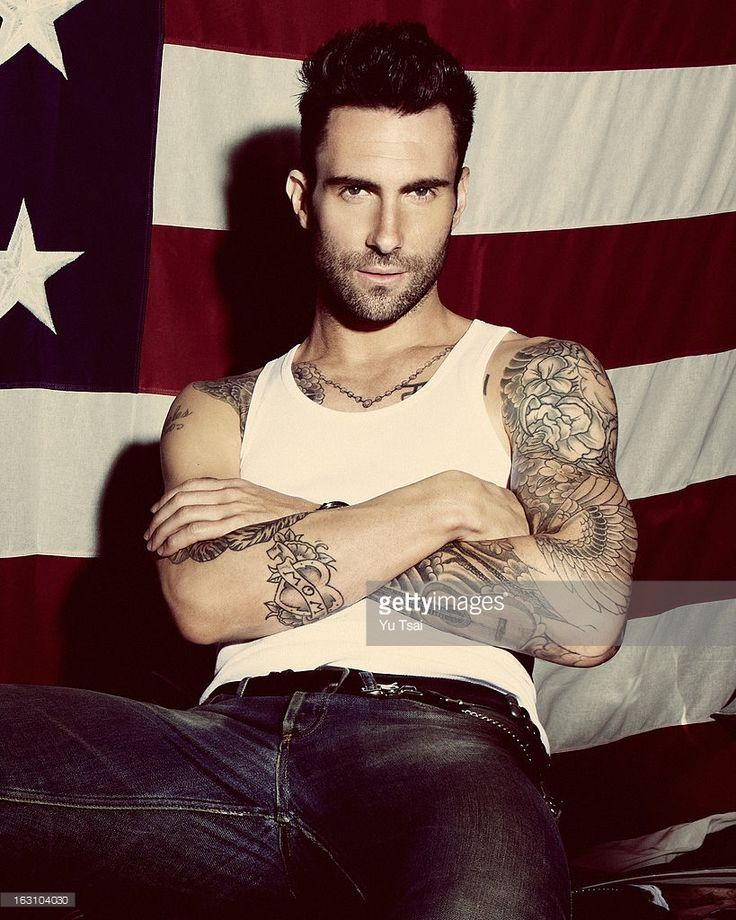Adam Levine tattoos | Mama, I'm In Love With A Criminal ...