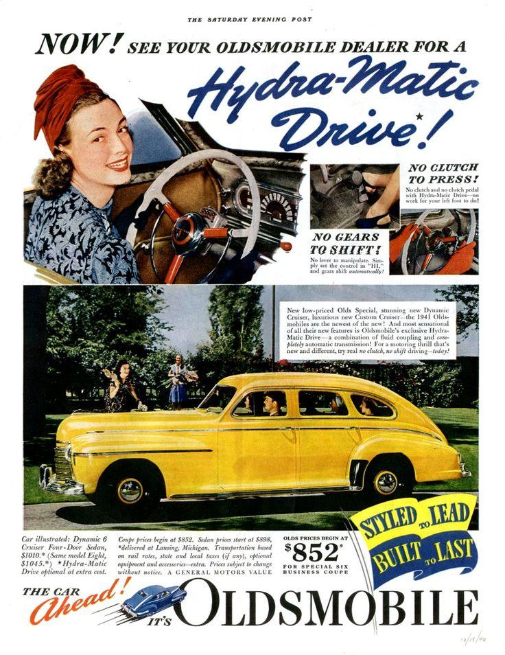 4145 best Car ads images on Pinterest | Car advertising, Vintage ads ...