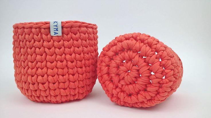 Handmade Chunky Crochet Basket by http://www.kymastyle.com