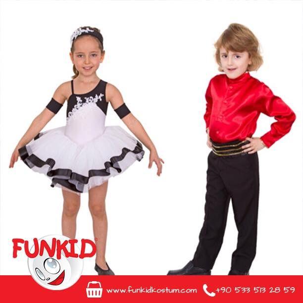 Size fikir vermesi için, bu sene en fazla sipariş edilen dans kostüm örneklerini gösterelim istedik. Kırmızı gömleği, şık pantolonu ve belindeki kuşakla erkek dans kostümümüz ve şirin elbisesini tamamlayan saç bandı ve tütüsüyle kız dans kostümümüz en fazla tercih edilen modellerden. Siz de çocuğunuza bayram kostümünü henüz seçemediyseniz, geç kalmış değilsiniz #23nisan #yılsonugösterisi #funkidkostüm #kids #çocuk #kostum #costume