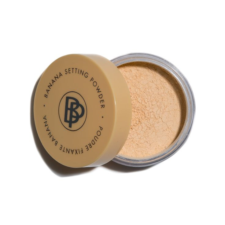 BelláPierre Cosmetics Banana Setting Powder ---- This is bananas. Literally. The yellow tinge color-corrects to offset redness and acts as a subtle highlight. It's a fave of ipsy's contour queens. Works for all skin tones from fair to dark Helps hide undereye circles Illuminates and looks transparent once applied.