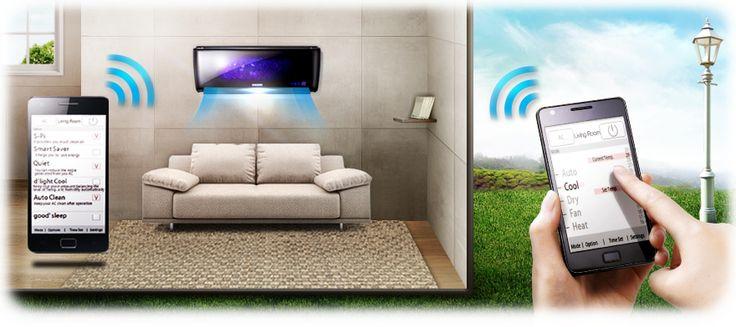 Zapomínáte občas před odchodem z domu nebo kanceláře vypnout klimatizaci? Chcete mít doma příjemnou teplotu hned, jak se vrátíte? Nechce se vám stále hledat ovládač? Se Samsung Smart wifi můžete svou klimatizaci ovládat i na dálku – třeba ze svého telefonu.  #Klimatizace #TepelnaCerpadla #Samsung #KlimatizaceSamsung #Czechklima