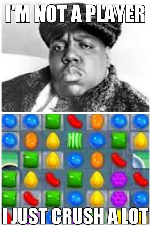 Candy crush addict.