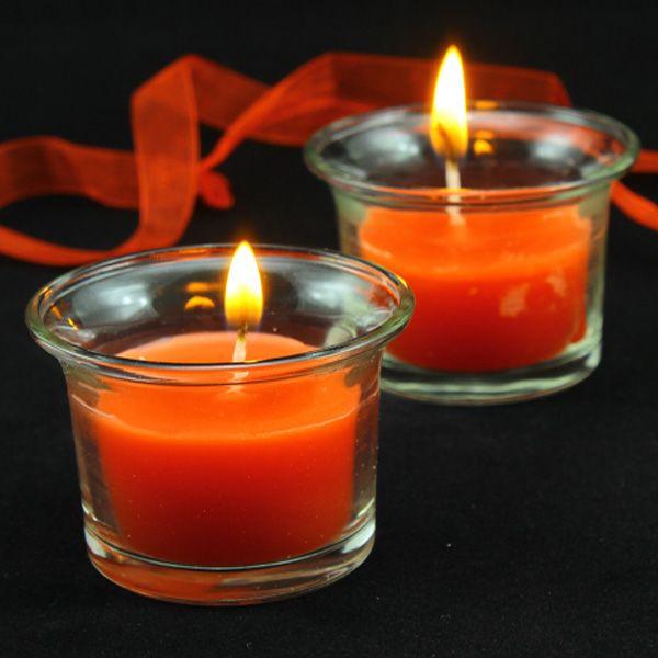 Hediyelik Mum Kırmızı Mumluk İçi Mum  2 Li Cam Mumluk İci Kırmızı Mum  2 Li Cam Tea Light Tutucu İçi  Mum ,