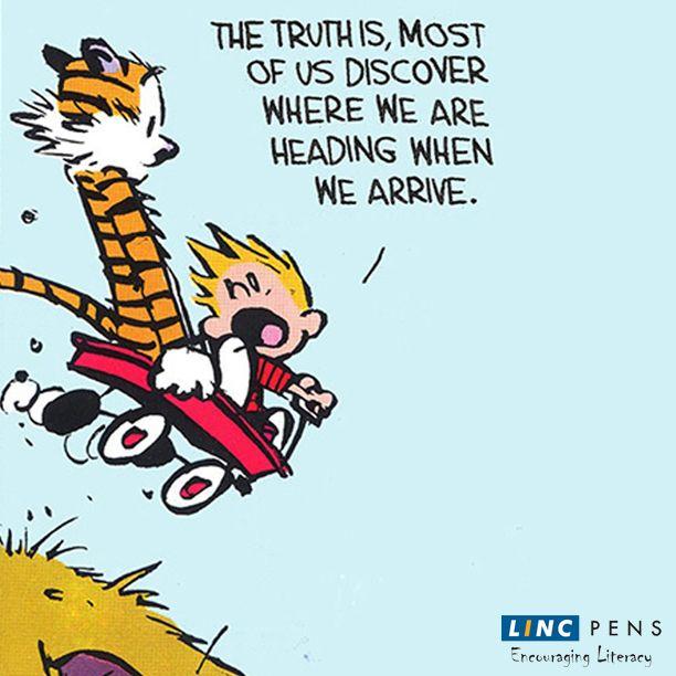Where are you heading? #direction #life #calvinhobbes