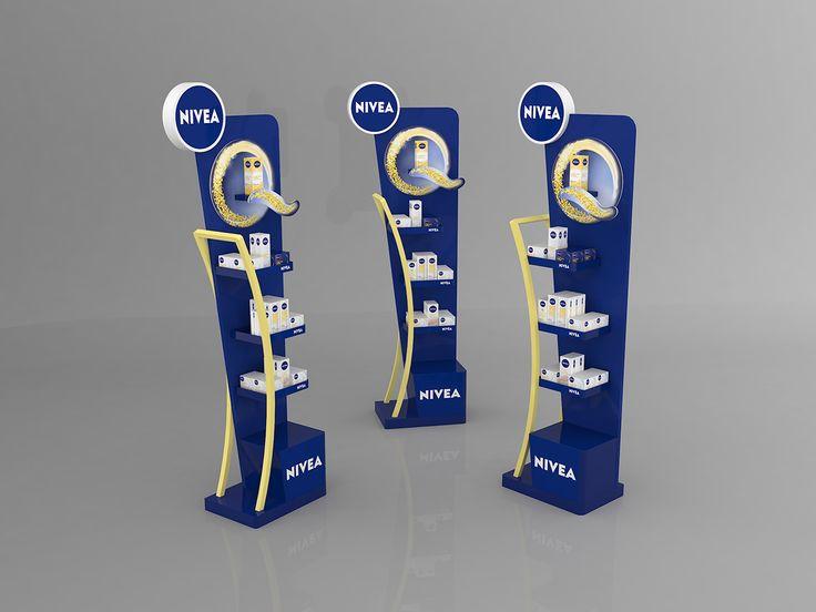 Nivea Q10 Pop Display Project