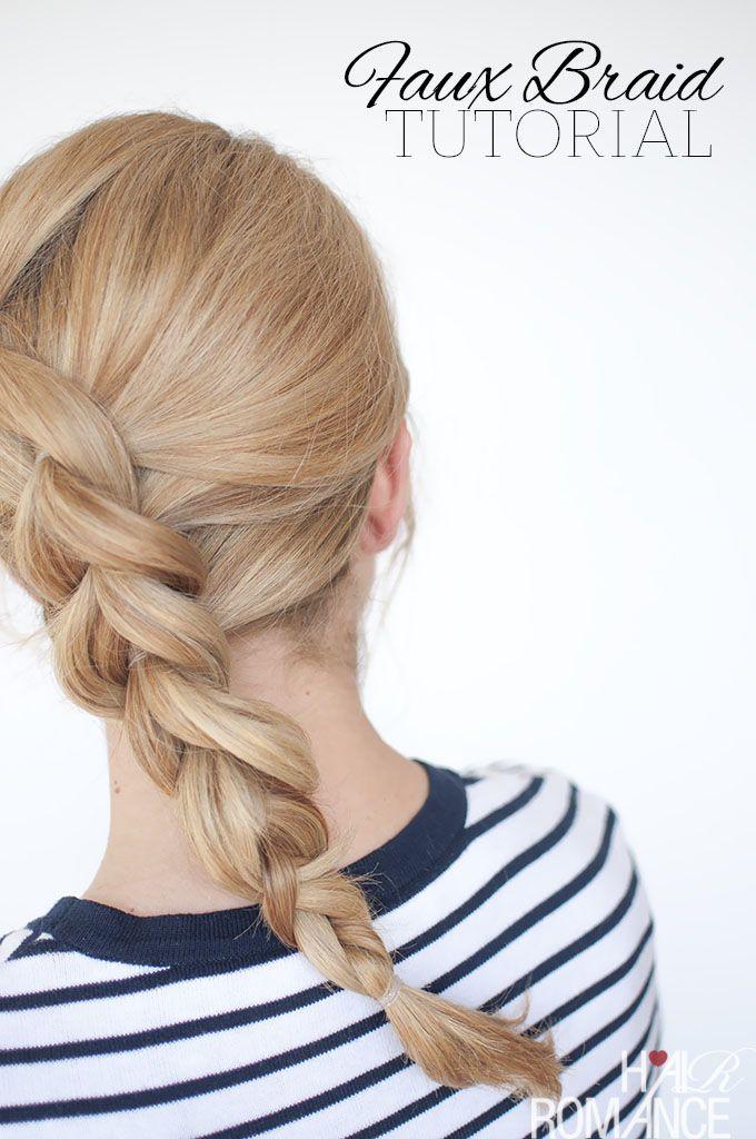 Braid cheat – pull through braid tutorial