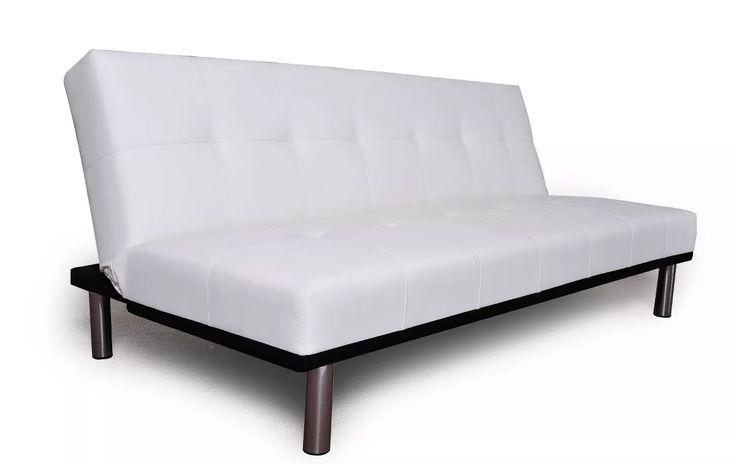 sillon futon cama zen reclinable blanco