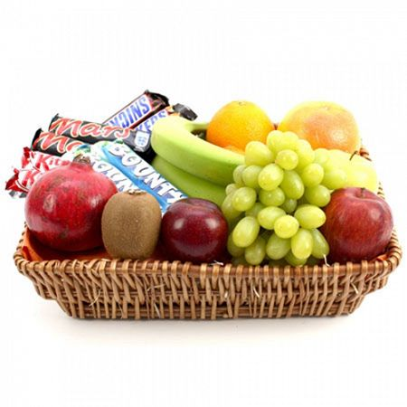 Fruit arrangements 10th anniversary hamper fathers forward fruit