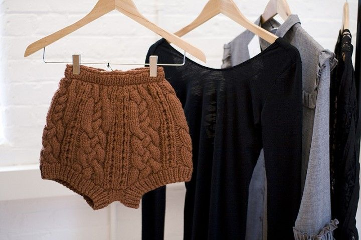 ah, want these knitted shorts