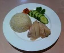 Thermomix - hainese chicken rice with ginger sauce. Good recipe.
