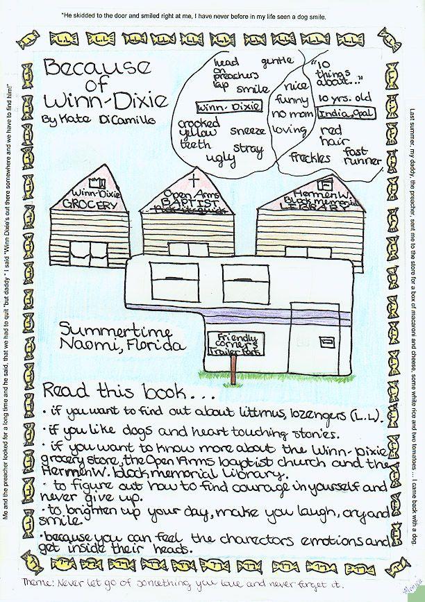Process   Book report  Because of Winn Dixie Goodreads  Because of Winn Dixie  Character Trait