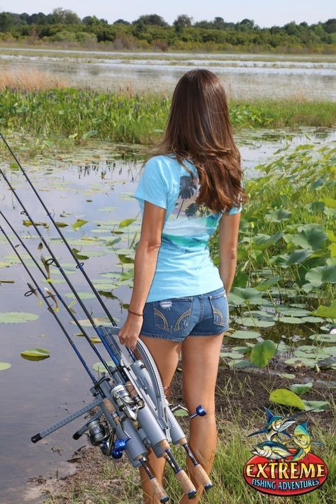 4430 best everything fishing images on pinterest fishing for Girl fishing pole