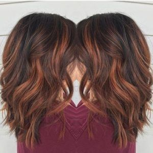 The 25 best brown hair red highlights ideas on pinterest brown 35 gorgeous highlights for brightening up dark brown hair pmusecretfo Images