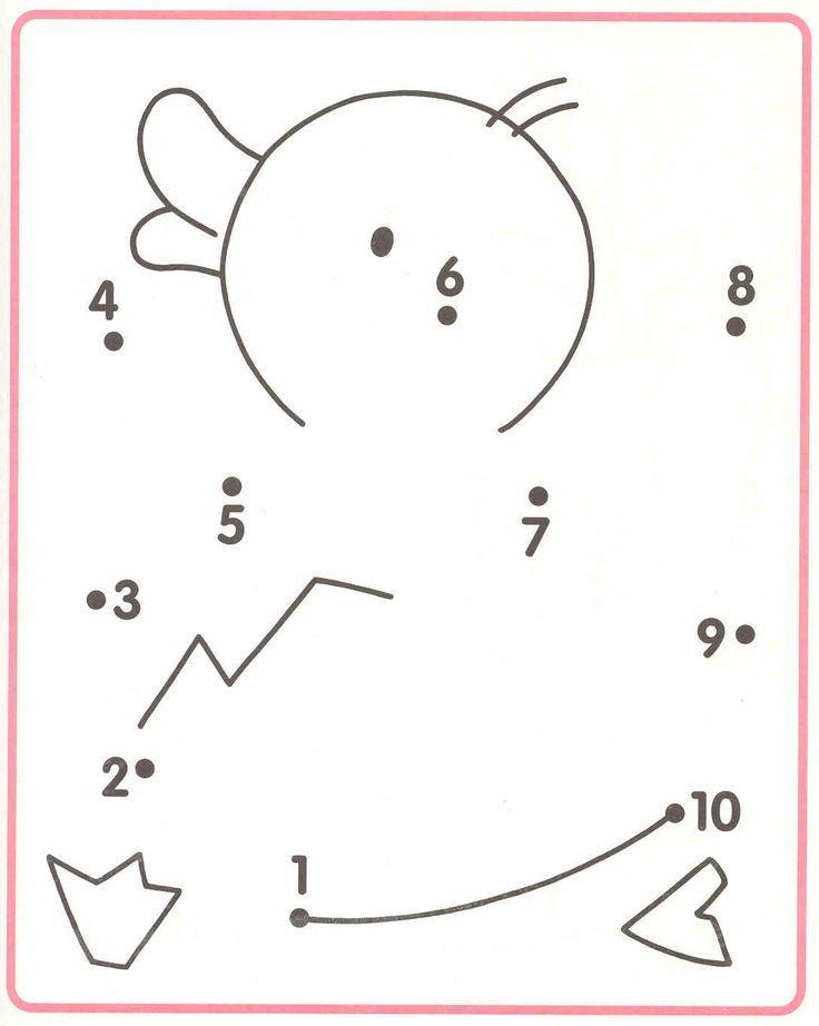 dot tot dot duck | Crafts and Worksheets for Preschool,Toddler and Kindergarten