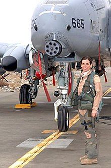 "Martha McSally is a retired United States Air Force colonel. She was the first American woman to fly in combat since the 1991 lifting of the prohibition of women in combat, flying the A-10 over Iraq and Kuwait. The A-10 is affectionately known as the ""Warthog,"" and you do not want to be on the receiving end of her gun."