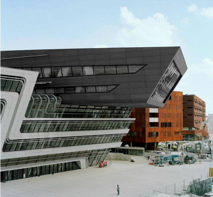 Sistemas de Fachadas   Biblioteca diseñada por Zaha hadid abre sus puertas   http://sistemasdefachadas.com
