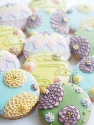 和クラシック。アイシングクッキー の画像|KOHARU BAKE店主 naoのはんなりブログ